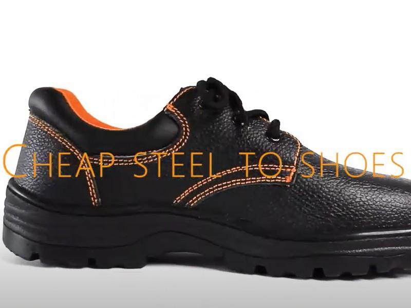 Steel to safety shoes