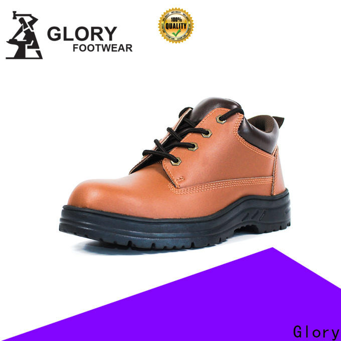 Glory Footwear leather safety shoes wholesale