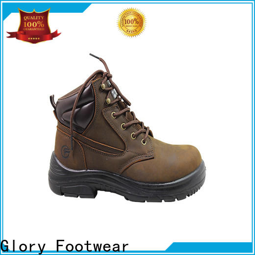 high cut lightweight work boots from China for outdoor activity