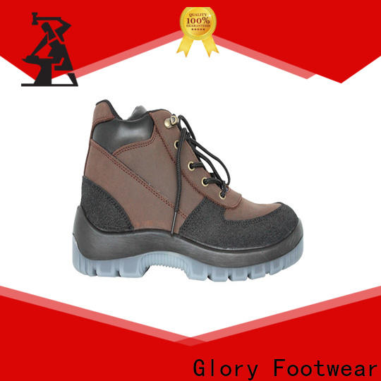 Glory Footwear steel toe shoes in different color for business travel