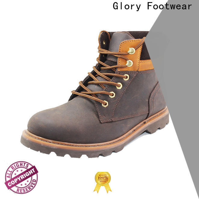 Glory Footwear fashion rubber work boots for wholesale