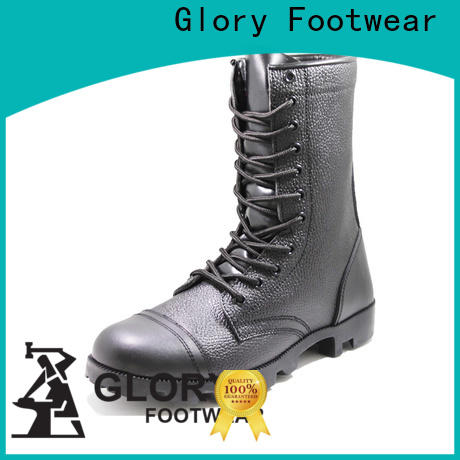 Glory Footwear newly leather combat boots free design for business travel