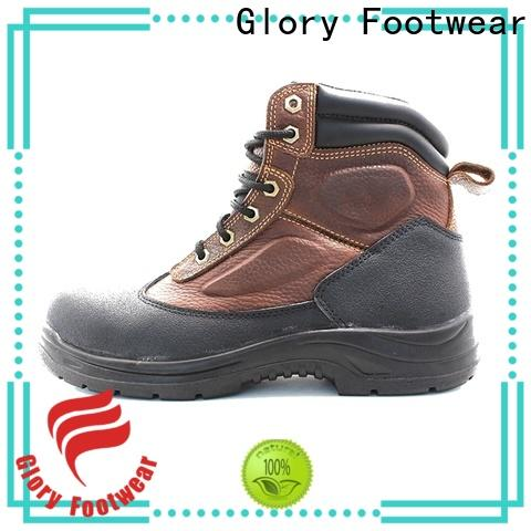 Glory Footwear high cut lace up work boots factory price for winter day