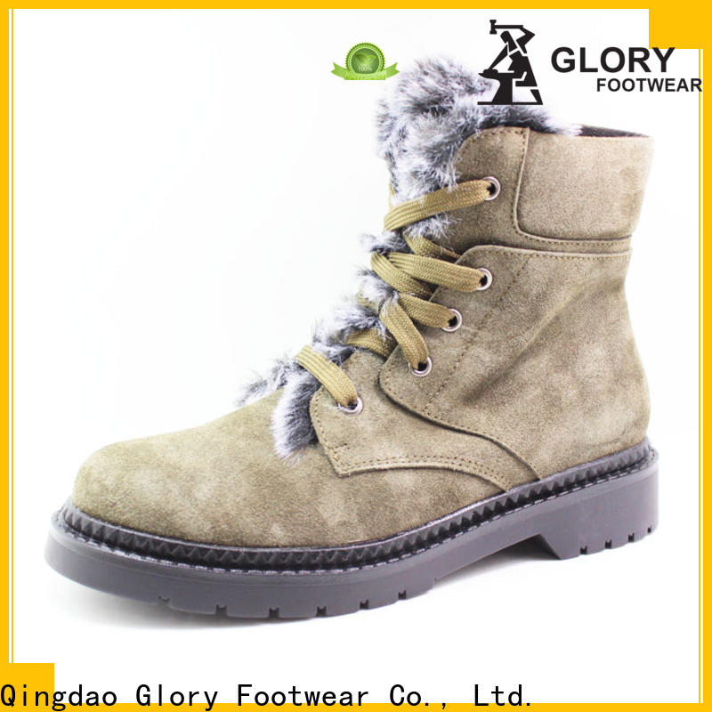 Glory Footwear newly ladies shoe boots factory price for party