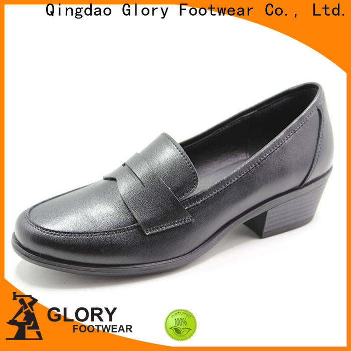 Glory Footwear newly black formal shoes for women from China for party