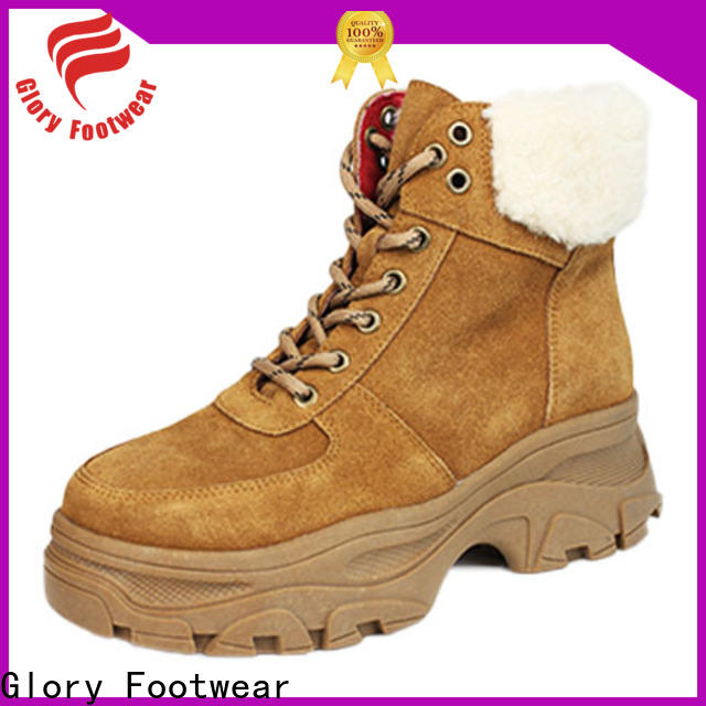 Glory Footwear useful suede boots with good price