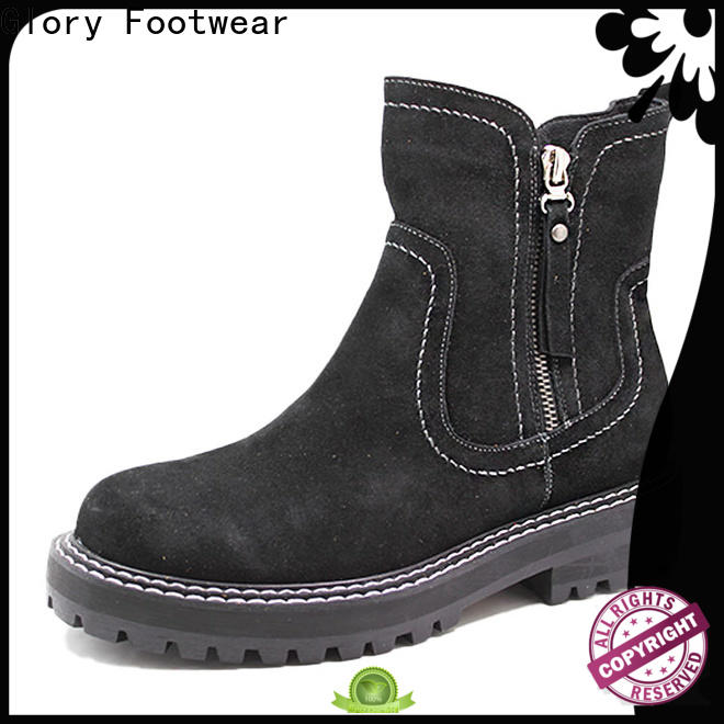 Glory Footwear quality womens suede winter boots free quote for outdoor activity