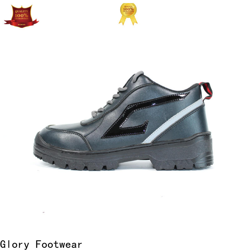 Glory Footwear high cut steel toe shoes for women from China for business travel