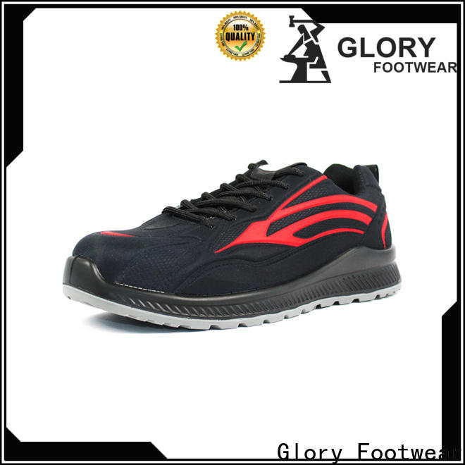 Glory Footwear new-arrival leather safety shoes with good price for winter day