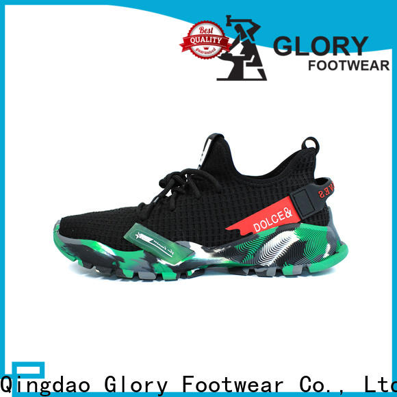 Glory Footwear quality men's athletic shoes bulk production for shopping