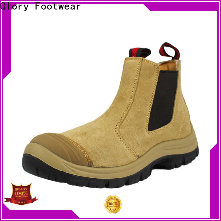 Glory Footwear lightweight work boots from China for party