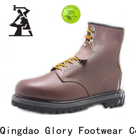 new-arrival lace up work boots from China for shopping