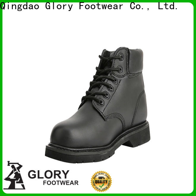 Glory Footwear superior black work boots with good price for winter day