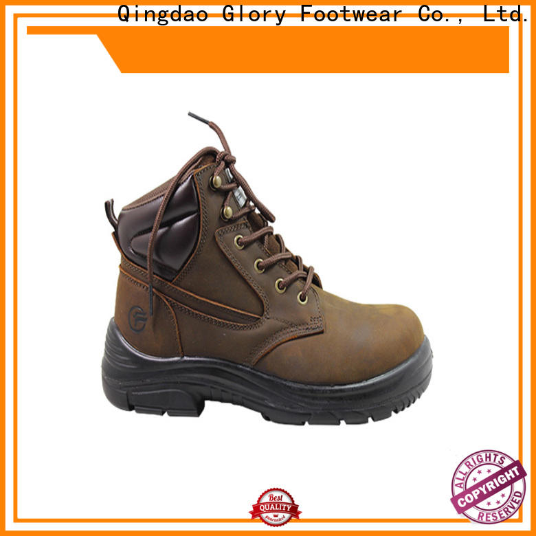 Glory Footwear construction work boots from China for business travel