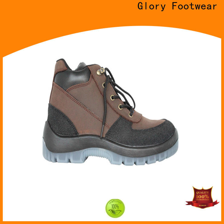 Glory Footwear solid safety shoes for men from China for winter day