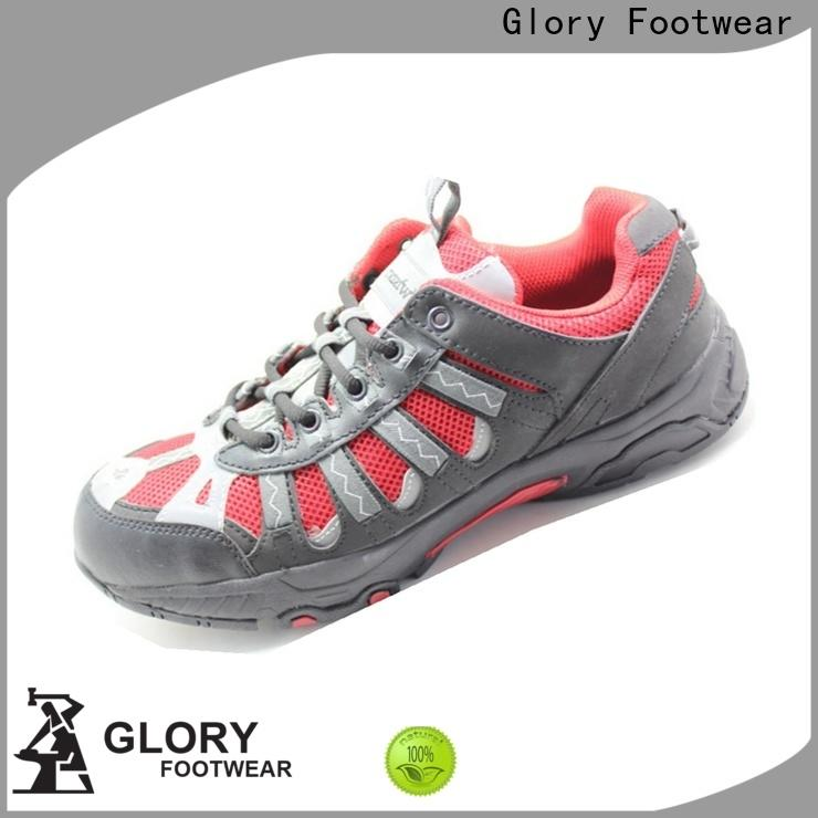 Glory Footwear high cut sports safety shoes with good price for hiking