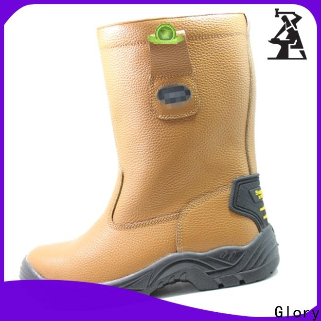 awesome leather work boots with good price for outdoor activity