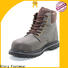 awesome black work boots factory price for winter day