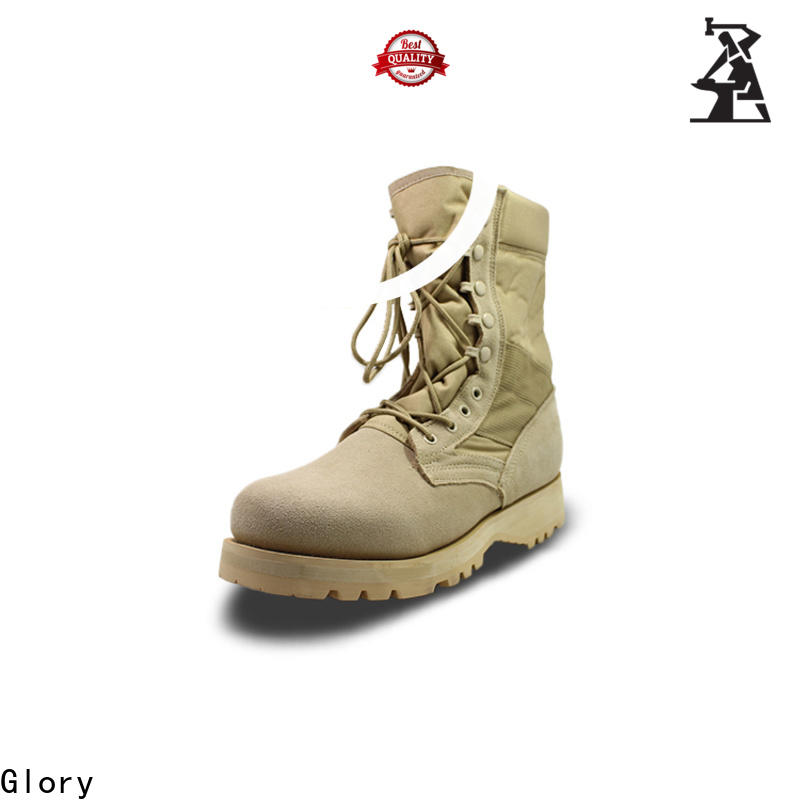 newly black military boots by Chinese manufaturer for outdoor activity