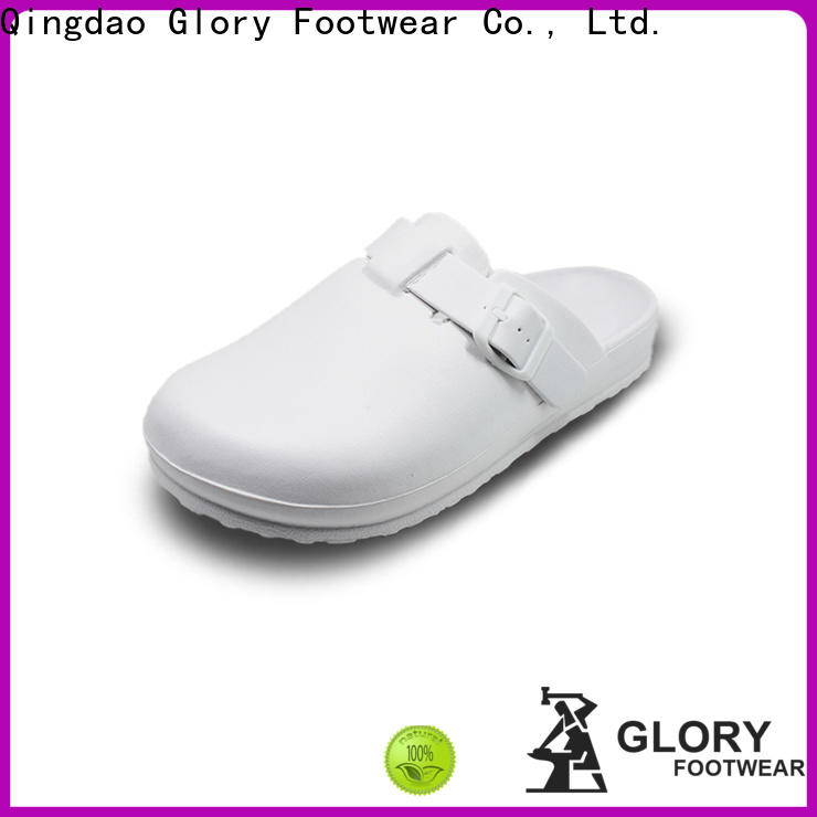 Glory Footwear safety nursing shoes clogs by Chinese manufaturer for business travel
