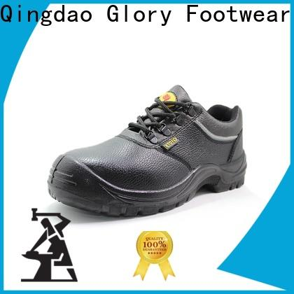 Glory Footwear high cut waterproof work shoes with good price for business travel