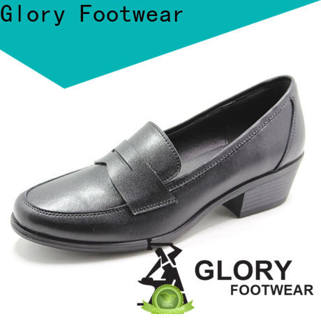 Glory Footwear black formal shoes for women free quote for shopping