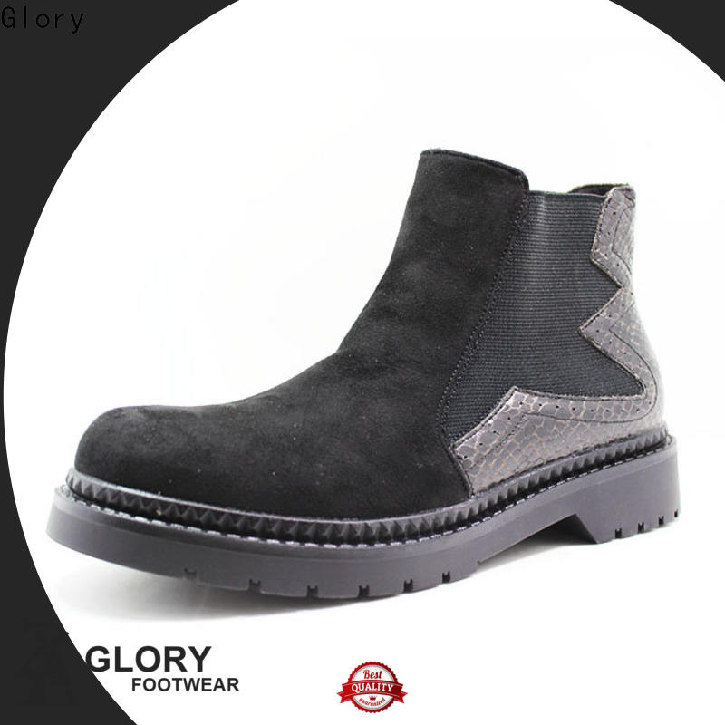 Glory Footwear newly lace up combat boots bulk production for hiking