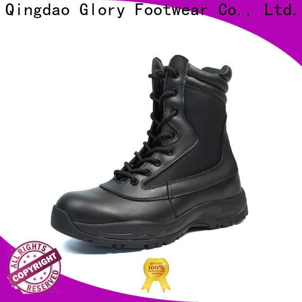 Glory Footwear classy mens combat boots by Chinese manufaturer for hiking