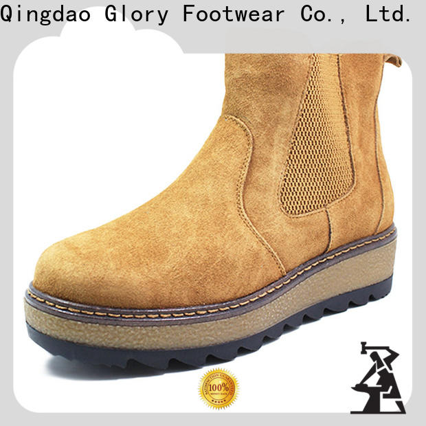 classy womens suede winter boots from China