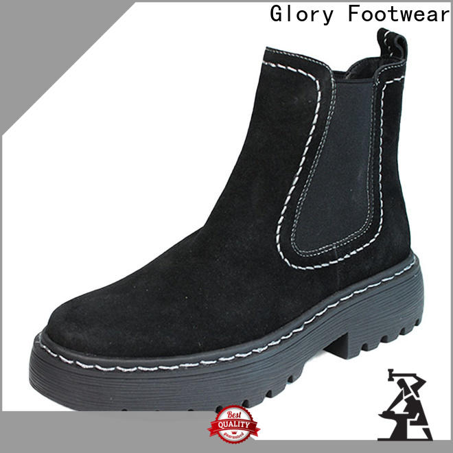 useful womens suede booties long-term-use for winter day