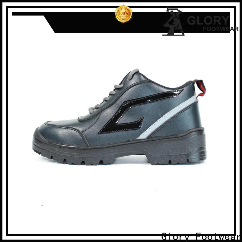Glory Footwear industrial safety shoes in different color for outdoor activity