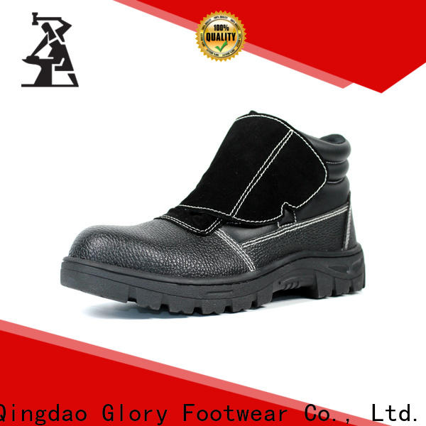 Glory Footwear high cut industrial safety shoes factory for hiking