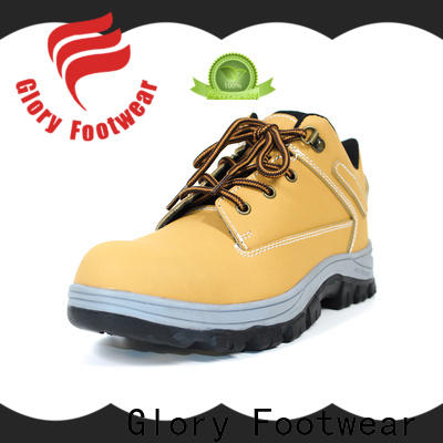Glory Footwear solid safety shoes for men in different color for outdoor activity