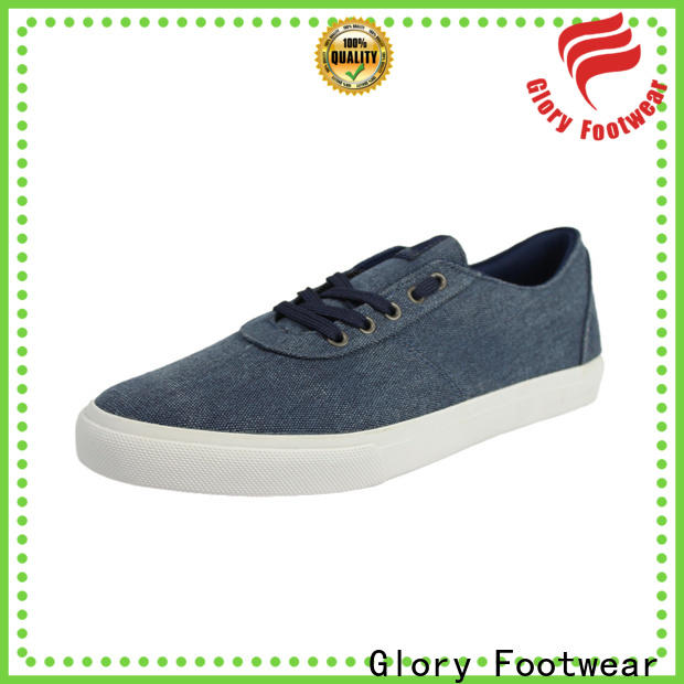 Glory Footwear quality canvas lace up shoes factory price for winter day