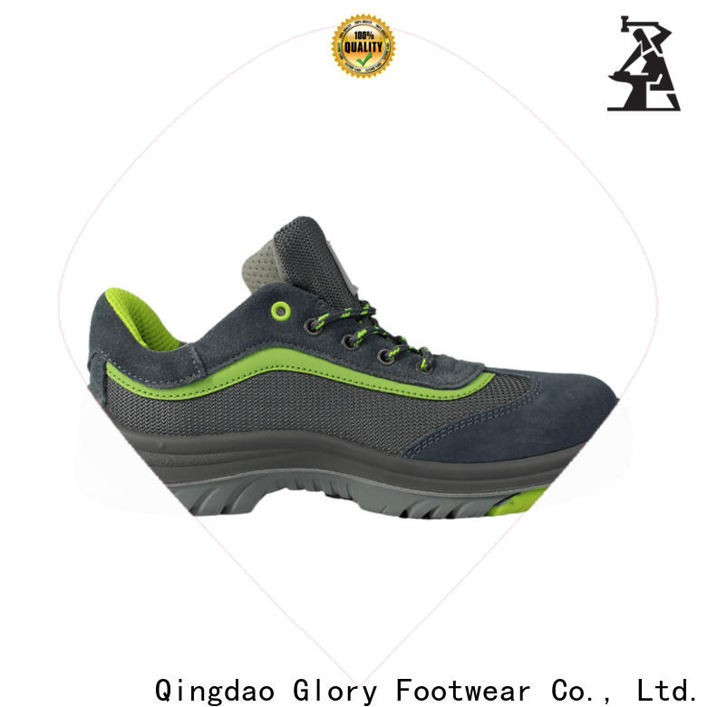 Glory Footwear solid industrial safety shoes factory for outdoor activity