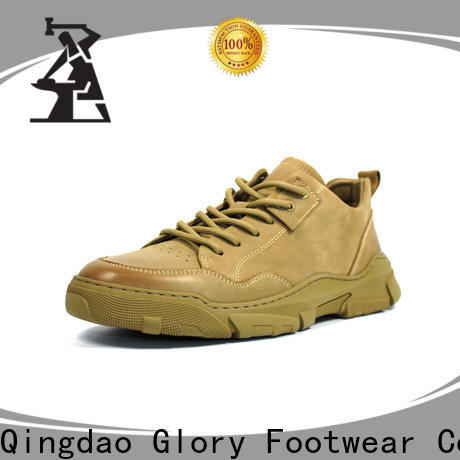 Glory Footwear men's athletic shoes by Chinese manufaturer for business travel