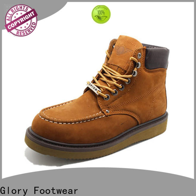 Glory Footwear construction work boots from China for winter day
