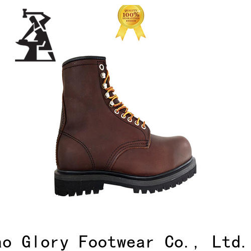 Glory Footwear black work boots free design for hiking