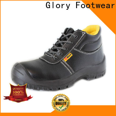 solid steel toe shoes in different color for business travel