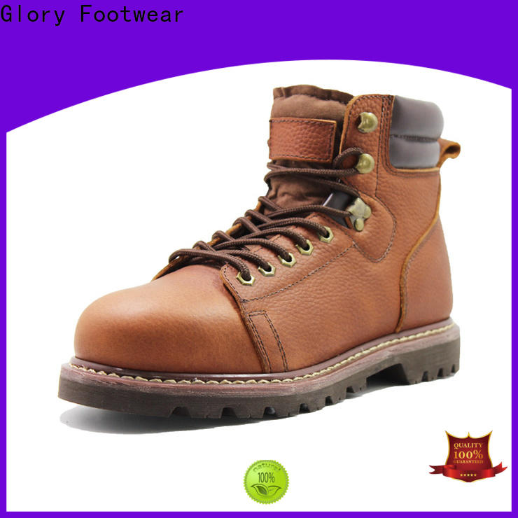 gradely lace up work boots for wholesale for shopping