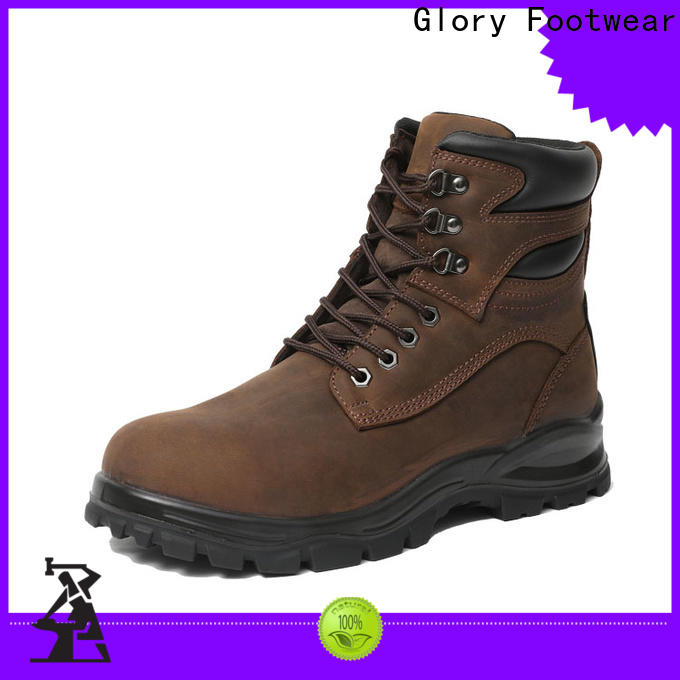 Glory Footwear fashion low cut work boots for wholesale for hiking