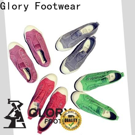 Glory Footwear exquisite black canvas shoes long-term-use for winter day