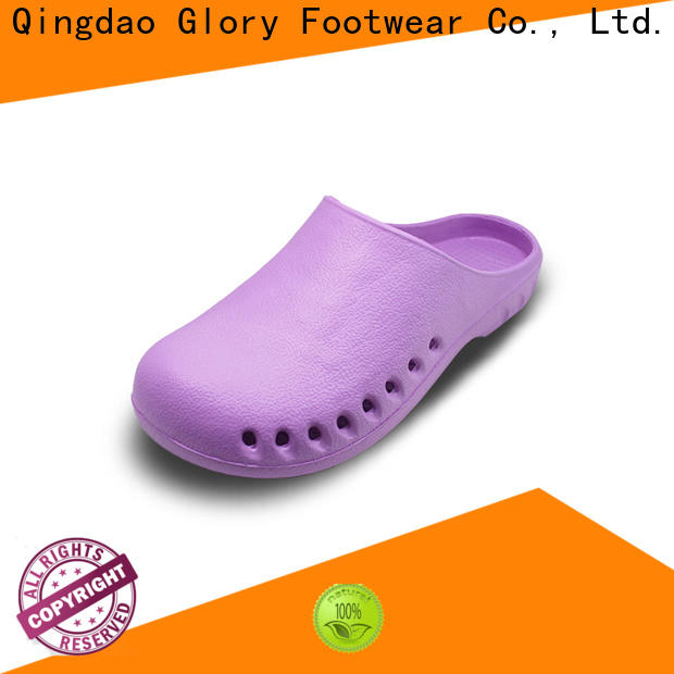 Glory Footwear nursing shoes clogs bulk production for hiking