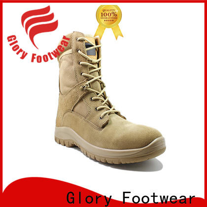 Glory Footwear leather combat boots free quote for business travel