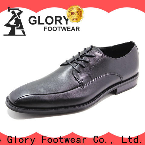Glory Footwear newly black formal shoes for women factory price for hiking