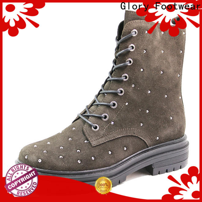 classy military boots women from China for hiking