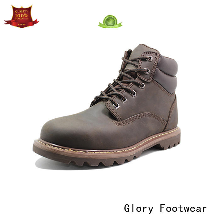 Glory Footwear newly steel toe shoes factory for party