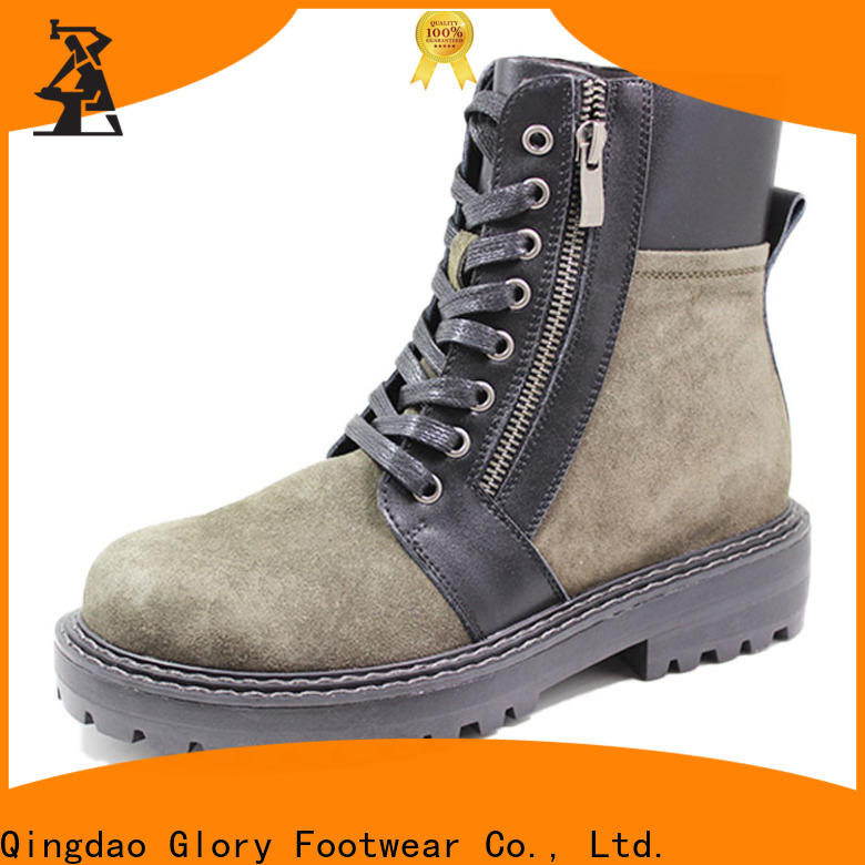 Glory Footwear cool boots for women from China for outdoor activity