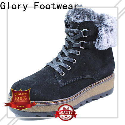 Glory Footwear classy ladies shoe boots from China for hiking