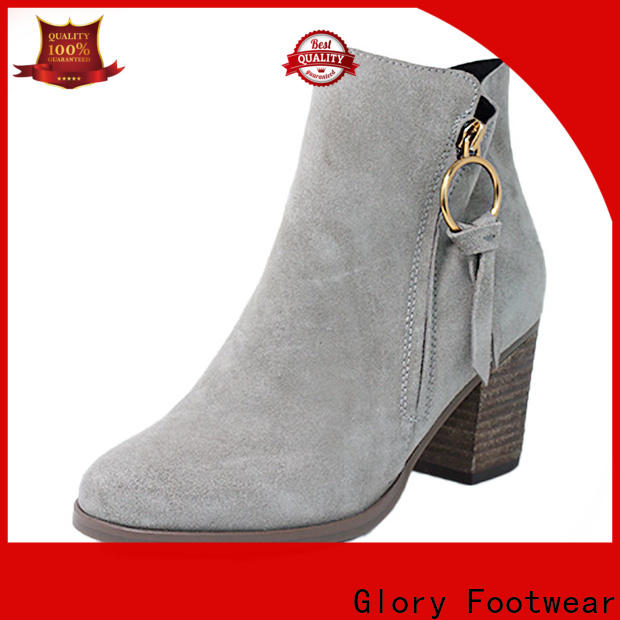 newly womens suede booties factory price for winter day